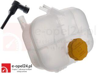 Zbiornik wyrównawczy płynu chłodniczego w zestawie z korkiem i czujnikiem Opel Astra H III - 1.2 / 1.4 / 1.6 / 1.8 / 2.0 / 1.3 CDTI / 1.7 CDTI / 1.9 CDTI - 1304241 / 93179469