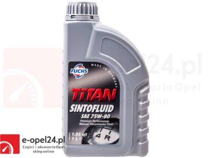 Olej przekładniowy FUCHS TITAN SINTOFLUID SAE 75W-80 1L