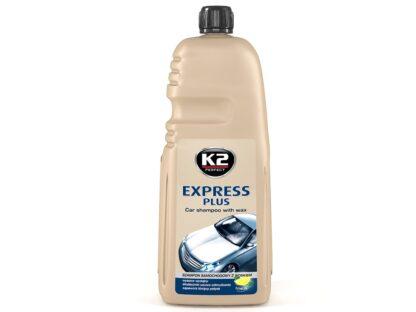K2 EXPRESS PLUS 1L - szampon samochodowy z woskiem - K141