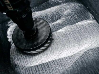 końcówka na wiertarkę do czyszczenia tapicerki foteli