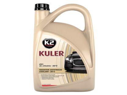 Płyn do chłodnic K2 KULER LONG LIFE 5L - czerwony - T205C