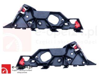 Komplet ślizgów lewy + prawy do zderzaka przedniego Opel Corsa D - 1406207 / 13179960 / 1406208 / 13179961