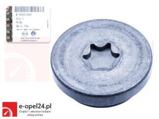Oryginalny korek kół zmiennej fazy rozrządu Opel Astra H J / Insignia A / Mokka X / Signum/ Vectra C / Zafira C - 1.6 /1.8- 5636974 / 55557288
