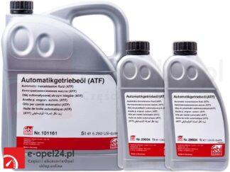 Zestaw 7L oleju przekładniowego ATF Febi do automatycznej skrzyni biegów AF40 - Opel Astra H J / Insignia A / Meriva B / Signum / Vectra C / Zafira C B - 1940773