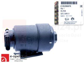 Oryginalna obudowa filtra paliwa wraz z wkładem Opel Mokka / Mokka X- 1.6 / 1.7 CDTI - 818029 / 95286876