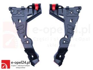 Komplet ślizgów przedniego zderzaka - lewy + prawy - Opel Astra H -1406547 / 24460283 / 1406548 / 24460284