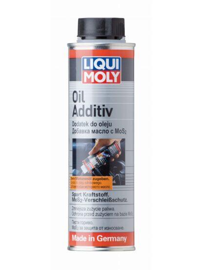 Dodatek do oleju z dwusiarczkiem molibdenu LIQUI MOLY - LM834