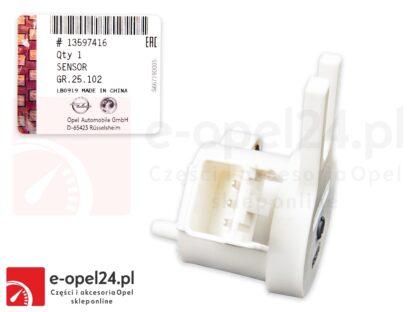 Oryginalny czujnik położenia pedału sprzęgła Opel Astra K / Corsa D E / Insignia A B / Meriva B / Mokka - 1339153 / 13597416