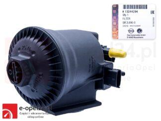 Oryginalna obudowa filtra paliwa wraz z wkładem Opel Astra J / Insignia A / Meriva B / Zafira C 1.3 / 1.6 / 1.7 / 2.0- 813067 / 13244294
