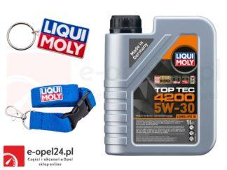 Olej syntetyczny Liqui Moly 5W30 TopTec 4200 1L - 8972 + GRATIS