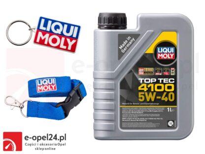 Olej syntetyczny Liqui Moly Top Tec 4100 5W40 1L + Gratis