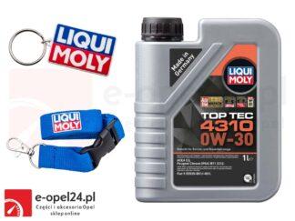 Olej Liqui Moly Top Tec 4310 0W30 1L + Gratis