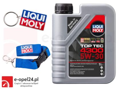 Olej syntetyczny Liqui Moly Top Tec 4300 5W-30 1L + gratis