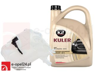 Zbiornik wyrównawczy płynu chłodniczego z czujnikiem poziomu i 5l płynu K2 Kuler – Opel Astra J – 1.3 / 1.4 / 1.6 / 1.7 / 2.0 - 13 04 019
