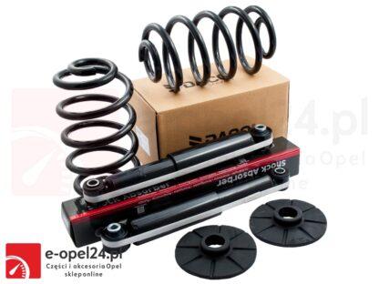 Komplet tylnych amortyzatorów firmy Daco wraz z sprężynami i odbojami Opel Vectra C- 436297 / 13131843