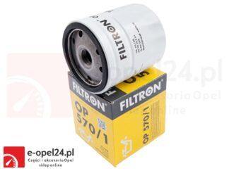 Filtr oleju Opel Astra F G H / Corsa B C / Calibra / Frontera A B / Meriva A / Omega B / Tigra B / Signum / Vectra A B C / Zafira A B- 650104 / 95509857