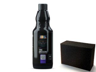 ADBL TIRE DRESSING 0.5L- odświeża i przywraca czerń opon + APLIKATOR GRATIS
