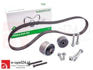 Zestaw paska rozrządu do silników benzynowych Opel Astra G H J / Corsa D E / Insignia A / Meriva A / Mokka X / Signum / Vectra C / Zafira B C -1.6 / 1.8 - 1606314 / 24422964