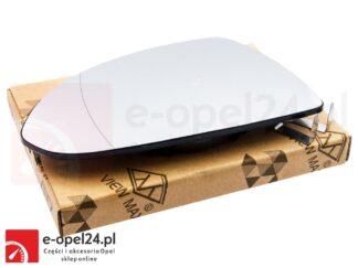 Wkład lewego lusterka bocznego z ogrzewaniem Opel Corsa D- 1426551 / 13187623