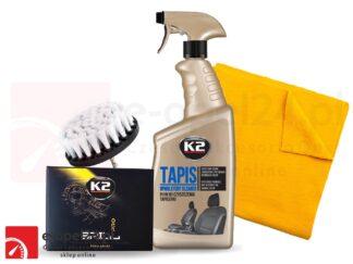Zestaw do czyszczenia tapicerki - K2 Brill / K2 Tapis/ mikrofibra