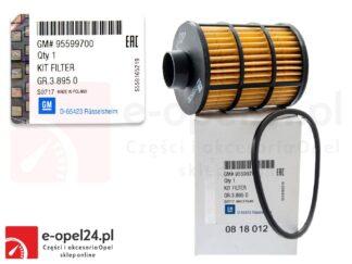 Oryginalny filtr paliwa Opel Astra H / Antara / Corsa C / Combo / Meriva A / Tigra B / Signum / Vectra C / Zafira B - 818012 / 95599700