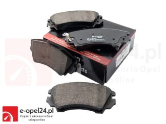 """Przednie klocki hamulcowe do Opel Insignia A z układem hamulcowym 17"""" - 1605434 / 13237751"""