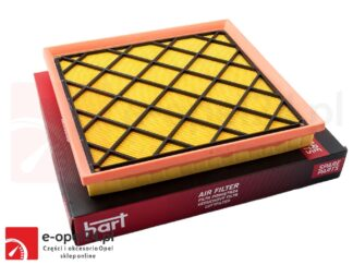 Wkład filtra powietrza marki HART - Opel Astra H J / Zafira C - 1.6 / 1.8 / 2.0- 834622