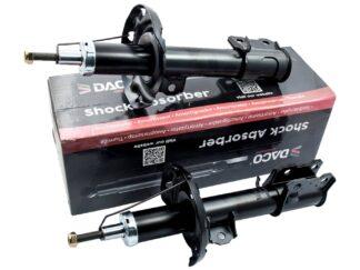Zestaw przednich amortyzatorów marki DACO Opel Corsa C 1.0 / 1.2 / 1.3 / 1.4 / 1.7 / 1.8- 344344 / 344346 / 72119116 / 72119118