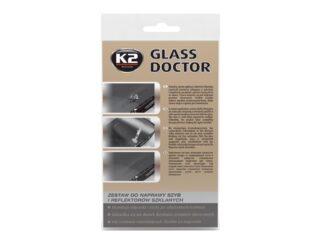 K2 GLASS DOKTOR: ZESTAW DO NAPRAWY SZYB I REFLEKTORÓW SZKLANYCH
