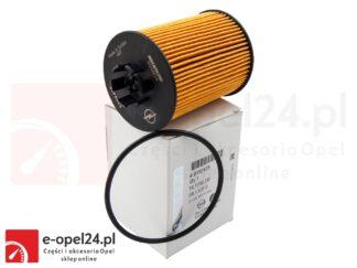 Oryginalny filtr oleju Opel Astra G II H III / Agila A / Corsa B C D / Meriva A / Tigra A- 650307 / 9192425