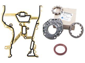 Zestaw naprawczy GM pompy oleju Opel Agila A / Astra G H / Corsa C D / Meriva A / Tigra B - 1.0 1.2 1.4 - 648941 / 93181959